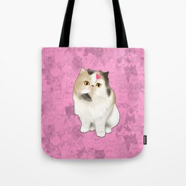 Cherry_the_flat_face_princess Tote Bag