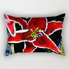 Tiger Lily jGibney The MUSEUM Society6 Gifts Rectangular Pillow