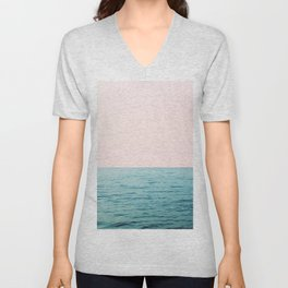 Blissful Ocean #1 #wall #decor #art #society6 Unisex V-Neck
