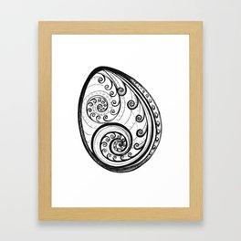 Paua Shell Framed Art Print