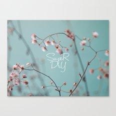 Super Dry Canvas Print
