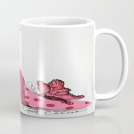 Steppin' on Breast Cancer Coffee Mug