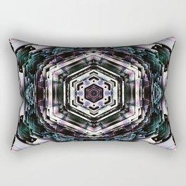 un mandala x Rectangular Pillow