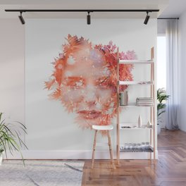 Fall in love Wall Mural