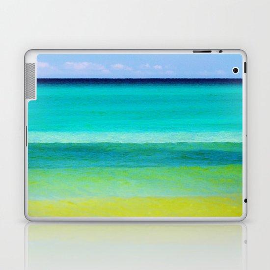 the colors of the sea Laptop & iPad Skin