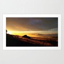 (#148) Hot Fog Art Print