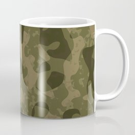 Camouflage Melt Coffee Mug