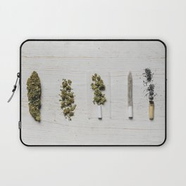 Evolution of weed Laptop Sleeve