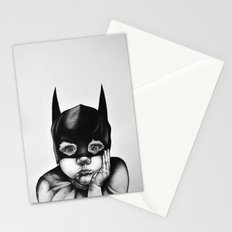 Waiting For a Hero (Bat Boy) Stationery Cards