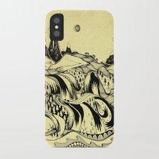Sleeping Mountains iPhone X Slim Case
