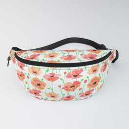 Poppies Flowers Fanny Pack