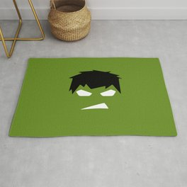 The Hulk Superhero Rug