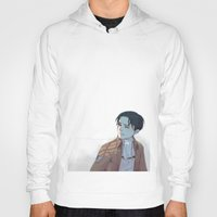 snk Hoodies featuring Levi by sushishishi