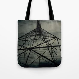 Power Lines Tote Bag