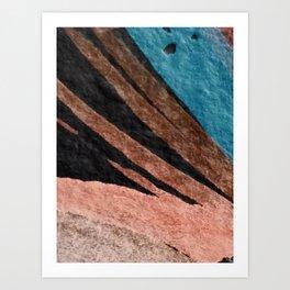 Dark Grace [2]: an abstract watercolor by Alyssa Hamilton Art Art Print