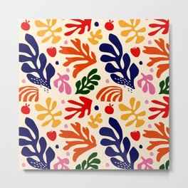 matisse pattern Metal Print