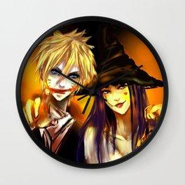 Happy Halloween naruto Wall Clock