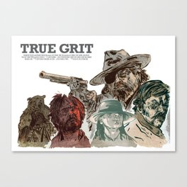 True Grit Canvas Print