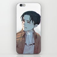 levi iPhone & iPod Skins featuring Levi by sushishishi