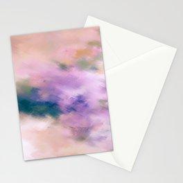 Color Burst - Blue Hydras Stationery Cards