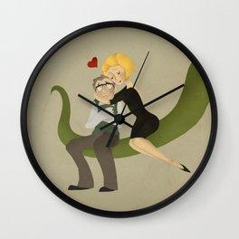 Suddenly Seymour Wall Clock