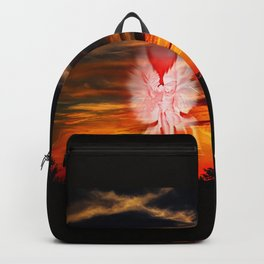 Mystical world,  heavenly apparition Backpack