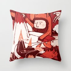 Crowd – FuFu's Throw Pillow