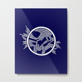 Axon Metal Print
