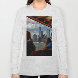 Freedom Tower & Tourists Long Sleeve T-shirt