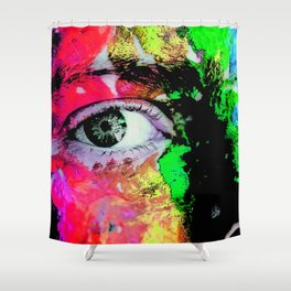 Wanna Be Seen Shower Curtain