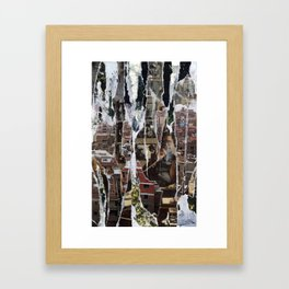 Mahogany/Monogamy Framed Art Print