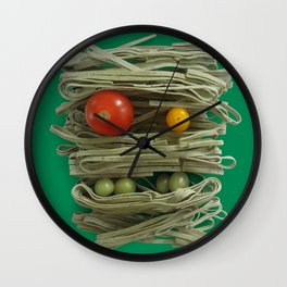 A Thing of the Pasta 2  Wall Clock