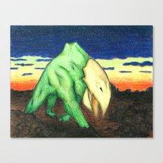 Tubrosaur  Canvas Print