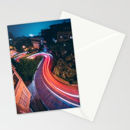 San Francisco Lombard Street Stationery Cards