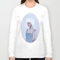 constellations Long Sleeve T-shirts featuring Wintry constellations by Pastellish