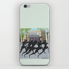 """I'm just gonna run in"" (Bangor Maine Mall) iPhone Skin"