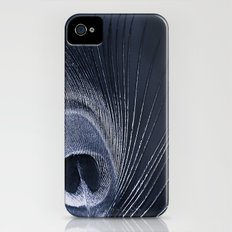 Blue Peacock Slim Case iPhone (4, 4s)