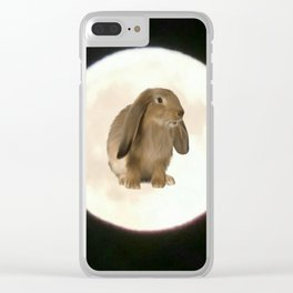 Moonrabbit 2 Clear iPhone Case