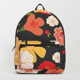 Farmers Market Floral Backpack