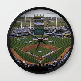 Royals Stadium Wall Clock