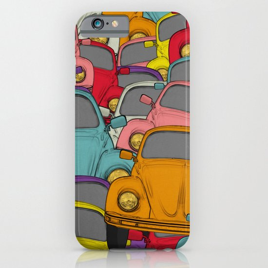 classic beetle iPhone & iPod Case