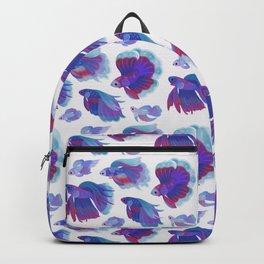 Blue Betta Backpack