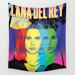 lana del ray rainbow 2021 Wall Tapestry