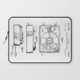 Turntable Patent Laptop Sleeve