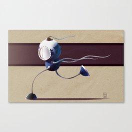 Run, Robot, Run! Canvas Print