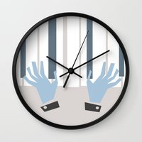 piano Wall Clocks featuring piano by liva cabule