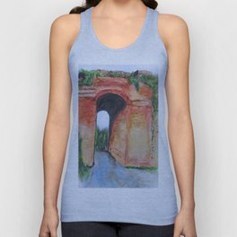 Arco Felice, Revisited Unisex Tank Top