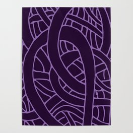 Microcosm in Purple Poster