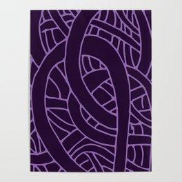 Microcosm in Purple Poster