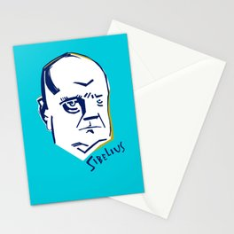 Jean Sibelius (3) Stationery Cards